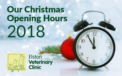 Elston Vets Christmas opening 2018