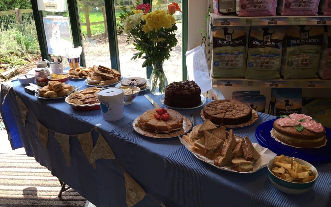 Blue Cross 'Paws for Tea' Bake Sale 2016
